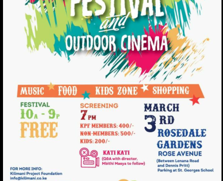 KILIMANI Street festival and outdoor cinema