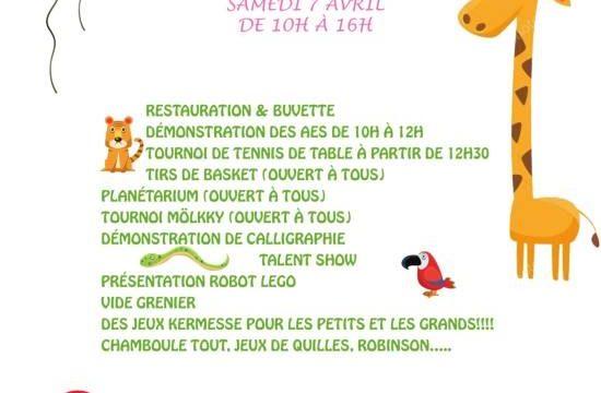 Fête du printemps au Lycée Denis Diderot