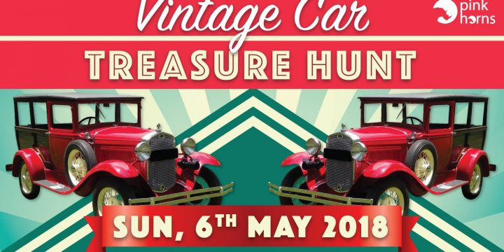 Vintage cat treasure hunt