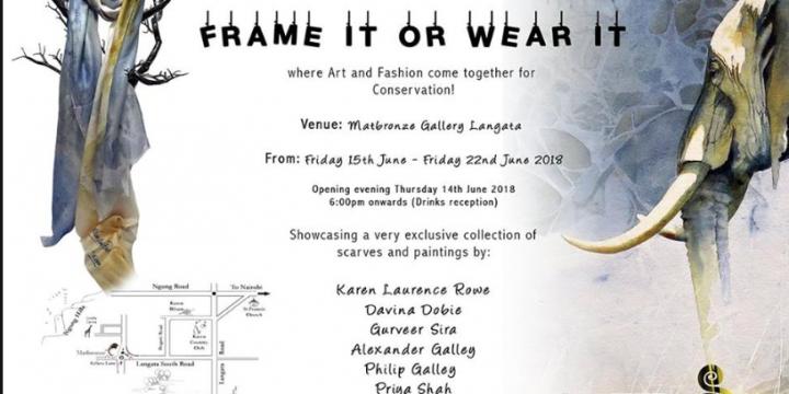 Frame it or wear it!