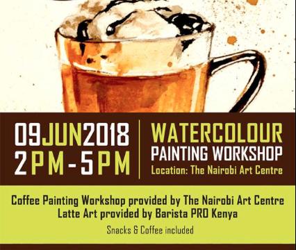 Latte Art & Watercolour