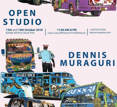 Open Studios Dennis Muraguri