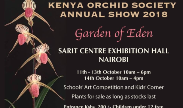 The Kenya Orchid Society Annual Show