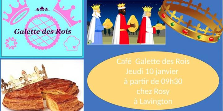 """Café """"Galette des rois"""""""