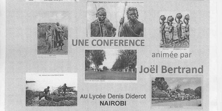 """conférence:   """"Nairobi et le Kenya au début du XXème siècle"""""""
