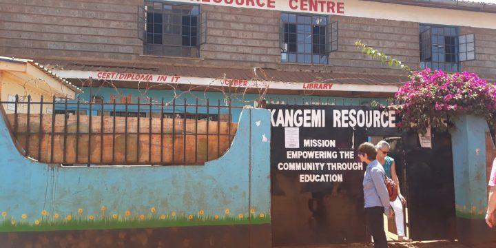 Visite de Kangemi Resource Center