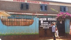 Visite de Kangemi Resource Center