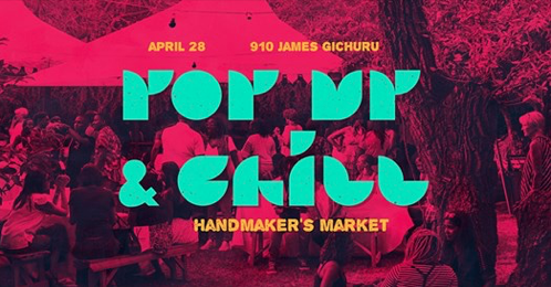 Pop Up And Chill Handmakers Market