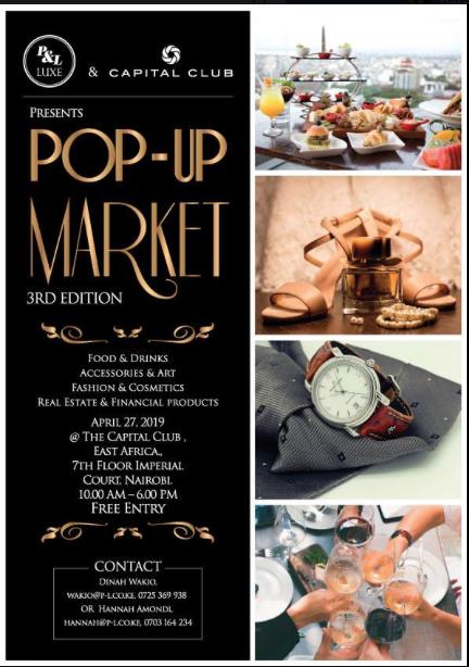 Luxury Pop-up Market