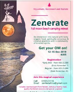 Zenerate: Yoga, méditation et bien-être  Camping Retreat