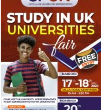 Study in the U.K. University fair