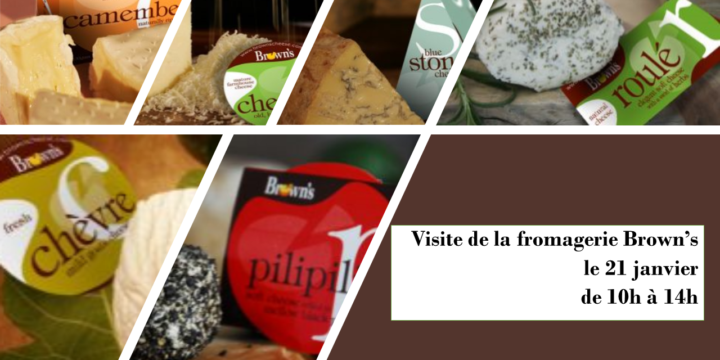 Visite fromagerie Browns