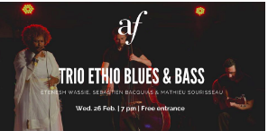 Concert: Trio Ethio Blues & Bass
