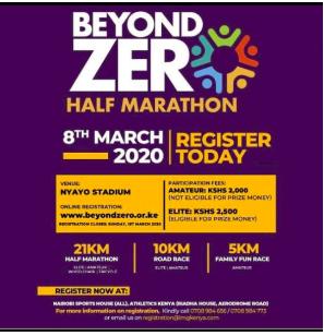 Beyond zéro semi-marathon