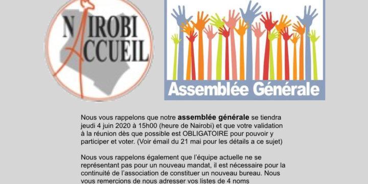 Invitation à L'Assemblé Générale