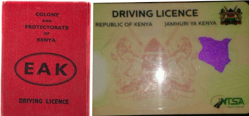 Changement de process pour le renouvellement du permis de conduire kenyan