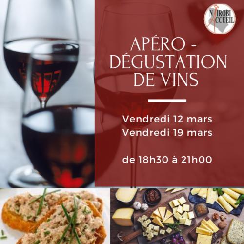 Apéro – Dégustation de vins